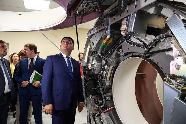 Гройсман пообещал ввод в эксплуатацию НДСБ «Охматдета» в конце года