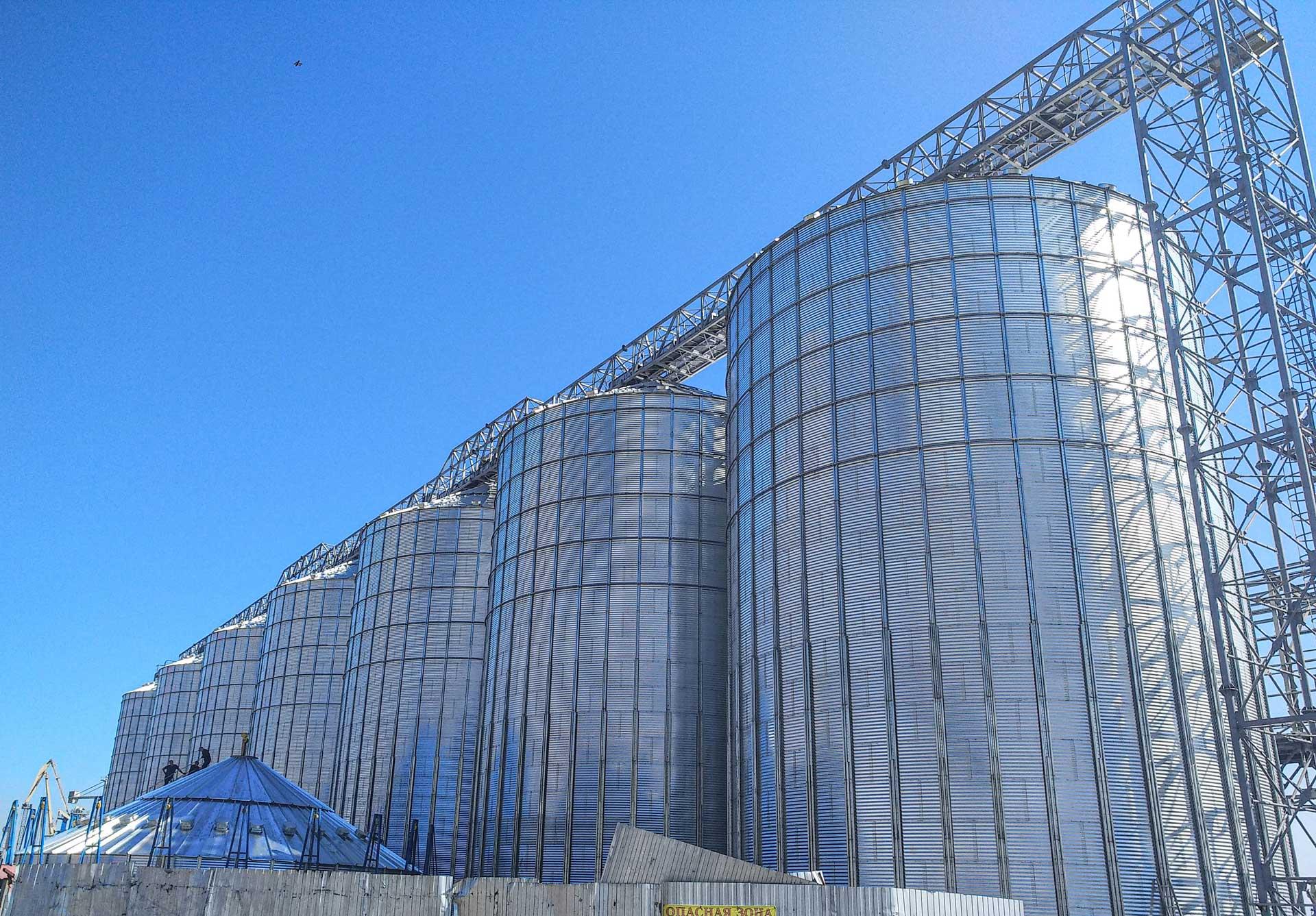 Реализация проекта зернового терминала в Мариупольском морском порту