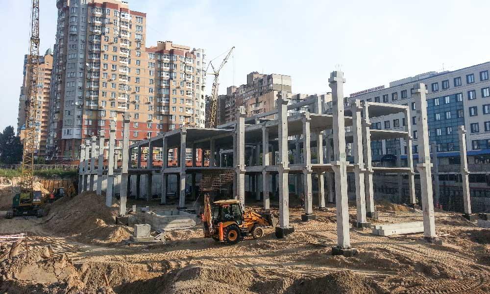 ТЦ «ACADEM CITY» - Строительная компания «Riola»