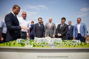 Початок будівництва багатопрофільної лікарні в Краматорську