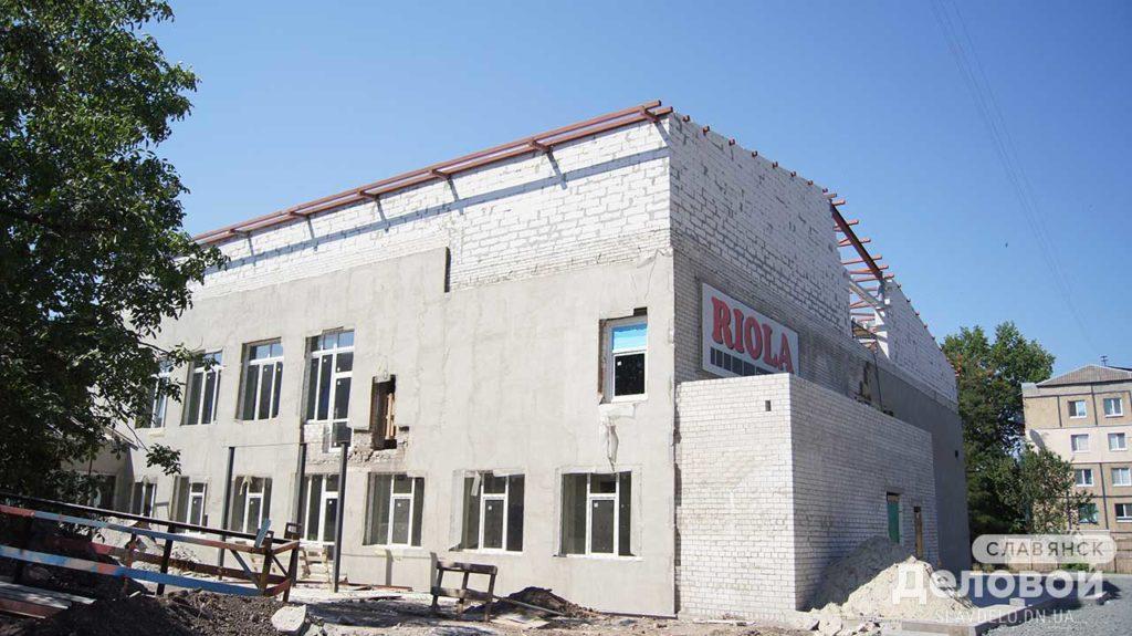 Cтроительство. Опорня школа г.Славянск. - Строительная компания «Riola»