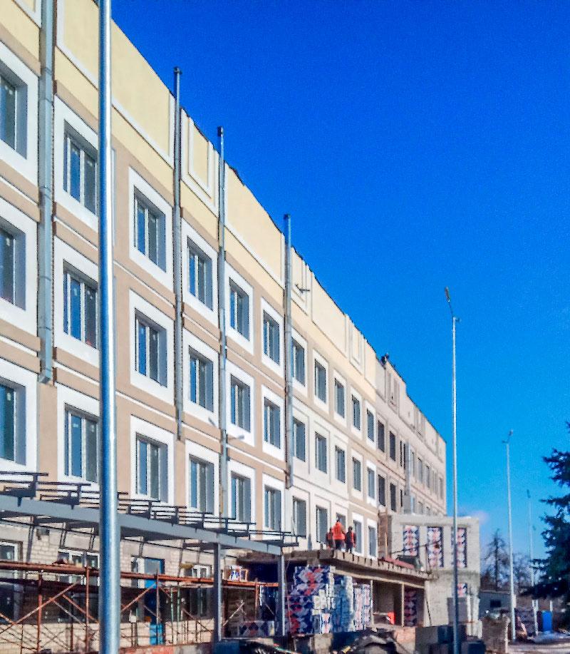 Реконструкция диагностического центра в г. Славянск. – Строительная компания «Riola»