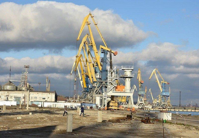 Начало строительства зернового терминала г. Мариуполь - Строительная компания «Riola»