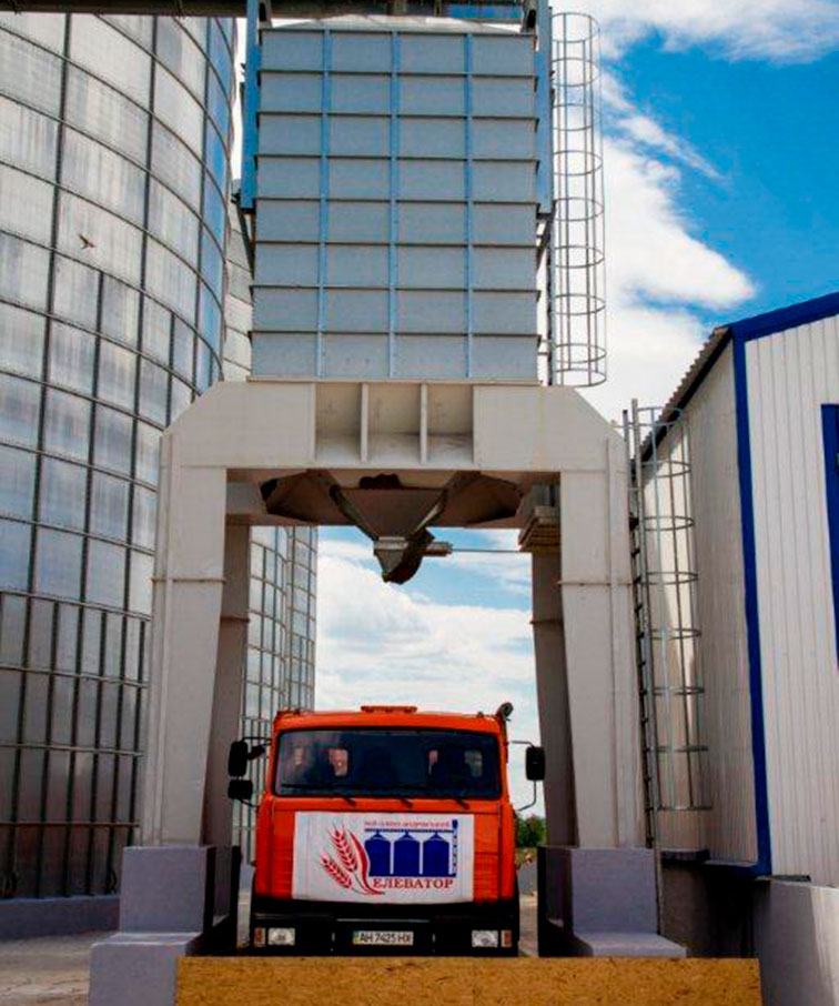 Элеваторный комплекс (с. Рай-Александровка) - Строительная компания «Riola»