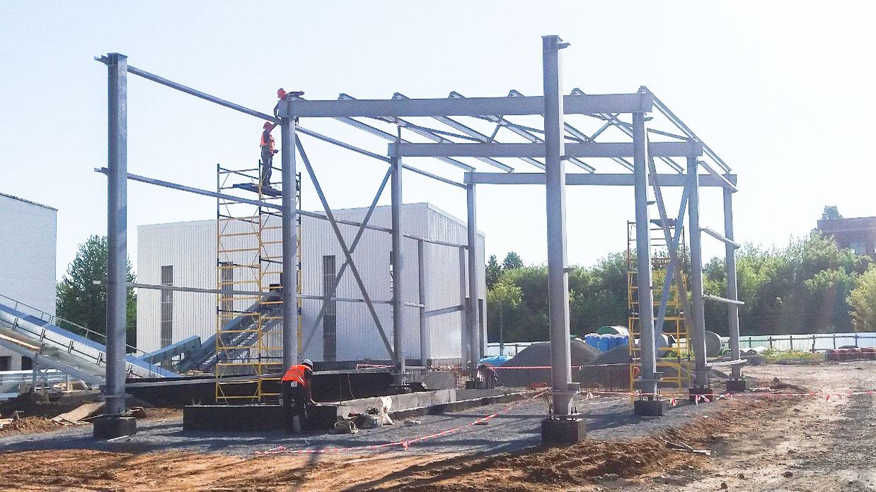 Семенной завод «KWS-Украина» - Строительная компания «Riola»