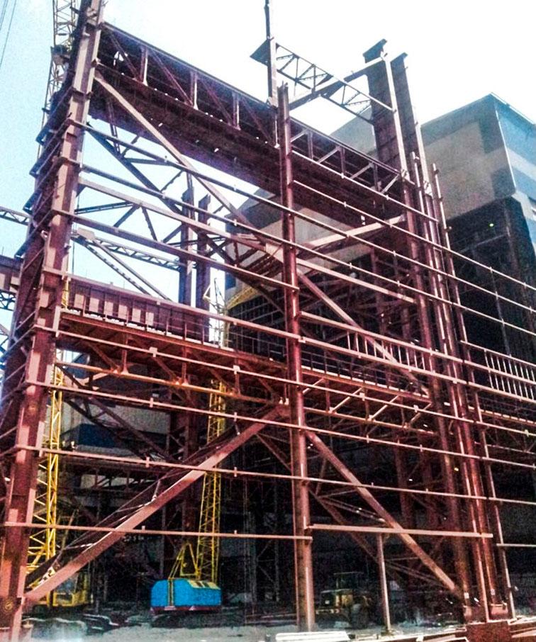 Алчевский металлокомбинат – Кислородно-конвертерный цех - Строительная компания «Riola»