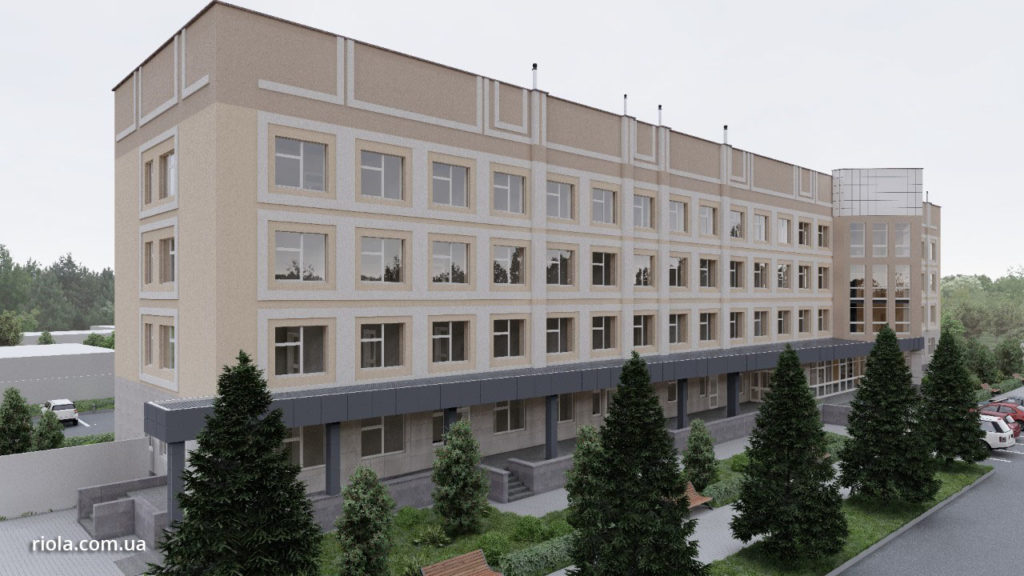 ООО «Риола-Модуль ЛТД» продолжает реконструкцию Диагностического центра в г. Славянск