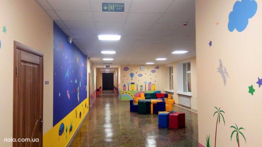 ООО «Риола-модуль ЛТД» завершило масштабную реконструкцию Опорной школы г.Славянск