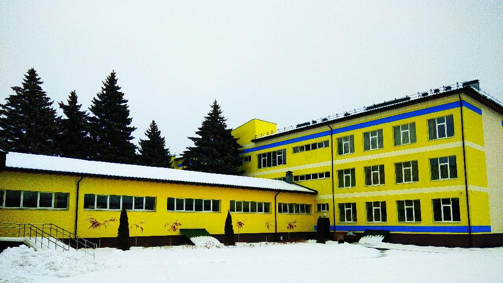 Cтроительство. Опорня школа г.Славянск, - Строительная компания «Riola»