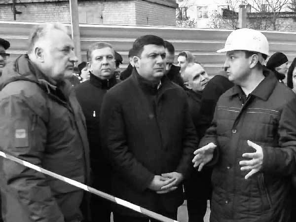 premer ministr posetil rekonstruktsiyu oblastnoj bolnitsy riola modul mariupol