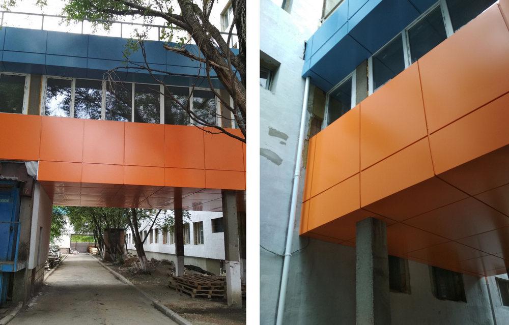 Реконструкция областного диагностического центра. - Строительная компания «Riola»