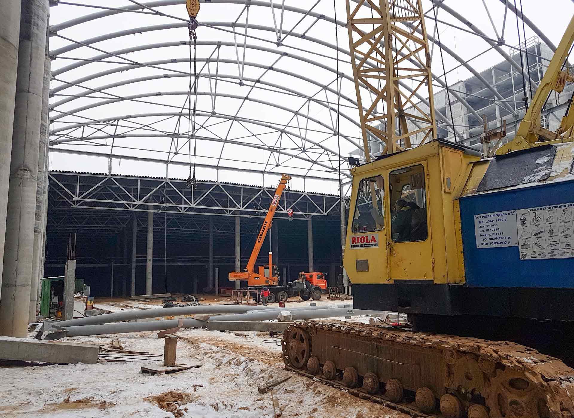 Строительство в ТРЦ Retroville – строительная компания «Riola»