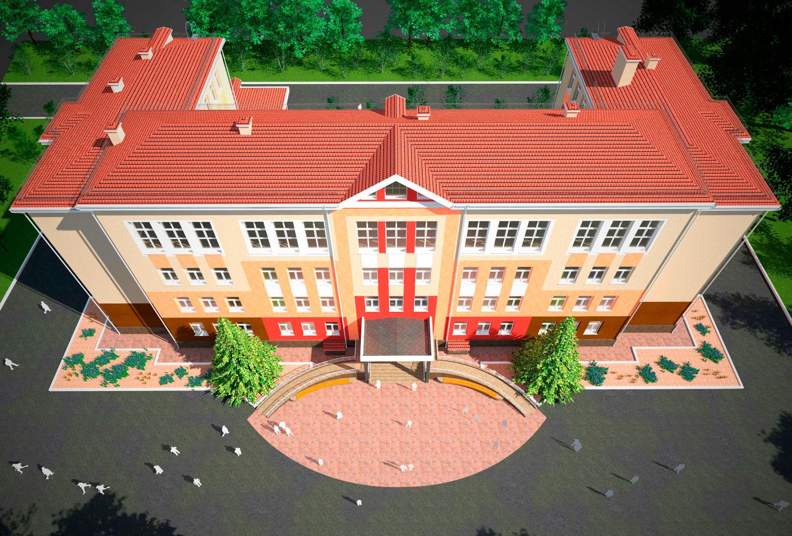 Общеобразовательная школа N 32 (г. Краматорск) - Строительная компания «Riola»