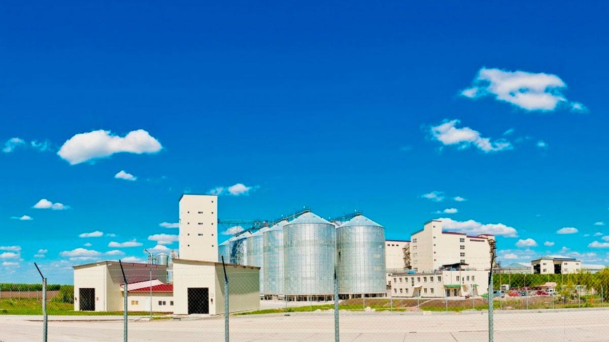 Комбикормовый завод «Агрохолдинг Авангард» - Строительная компания «Riola»