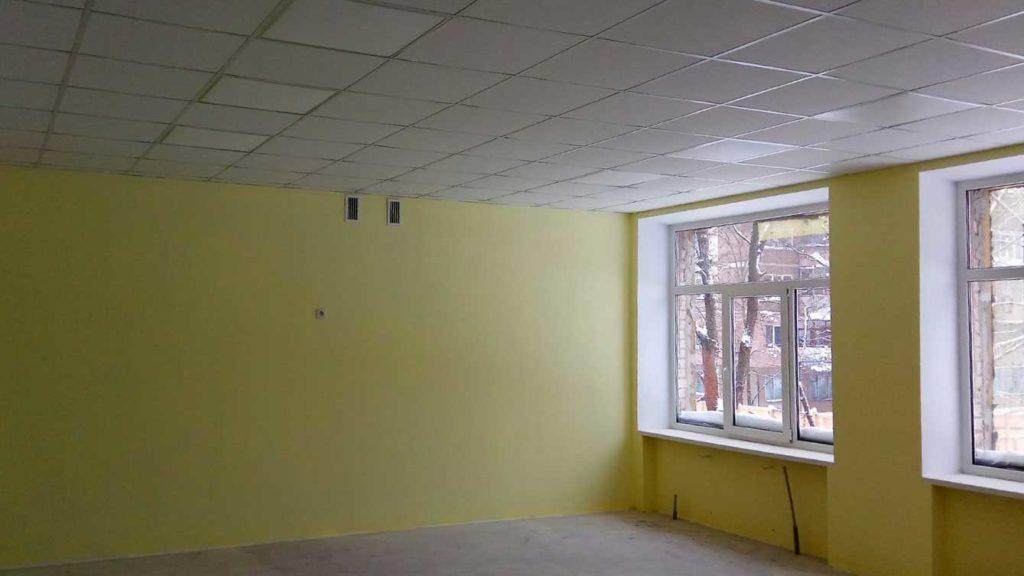Опорная школа N 13 (г. Славянск) - Строительная компания «Riola»
