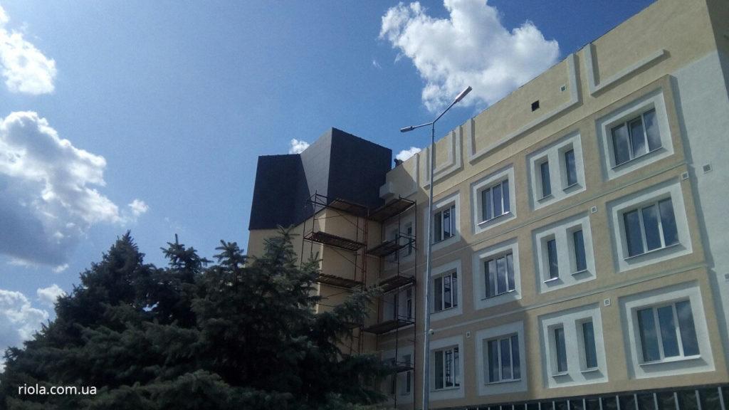 Реконструкція Діагностичного центру у м. Слов`янськ знаходиться на завершальній стадії