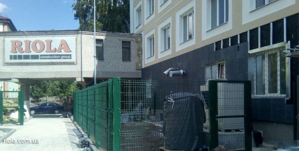 Реконструкция Диагностического центра в г.Славянск находится на завершающей стадии