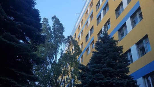 Реконструкція обласної лікарні в Маріуполі компанією ТОВ «Ріола-Модуль ЛТД» знаходиться на завершальній стадії