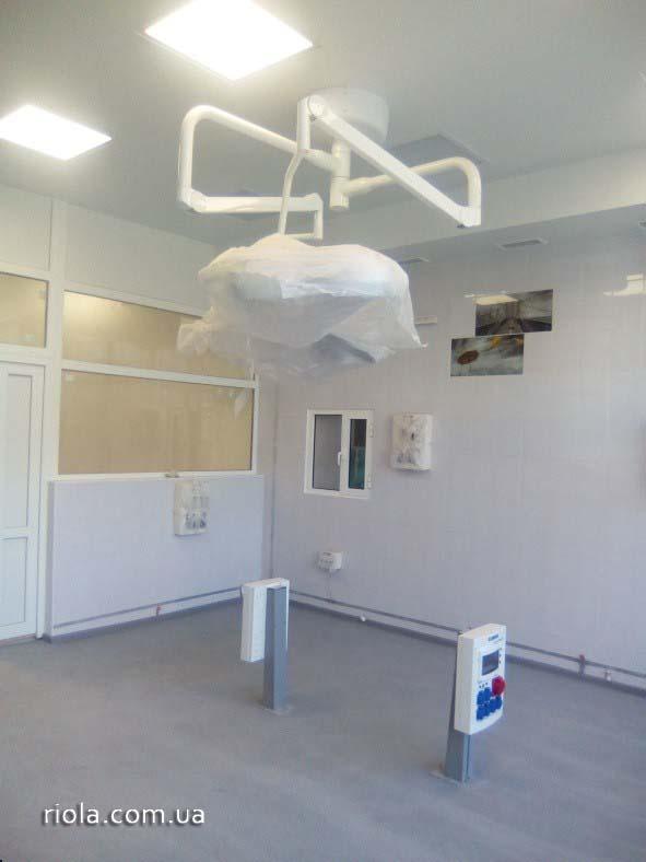 Реконструкция областной больницы в Мариуполе компанией ООО «Риола-модуль ЛТД» находится на заключительной стадии