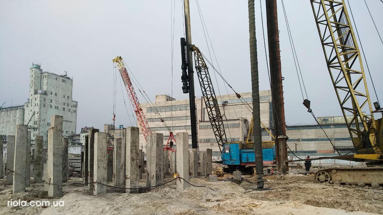 Зерновой терминал в Мариупольском морском порту - Строительная компания «Riola»