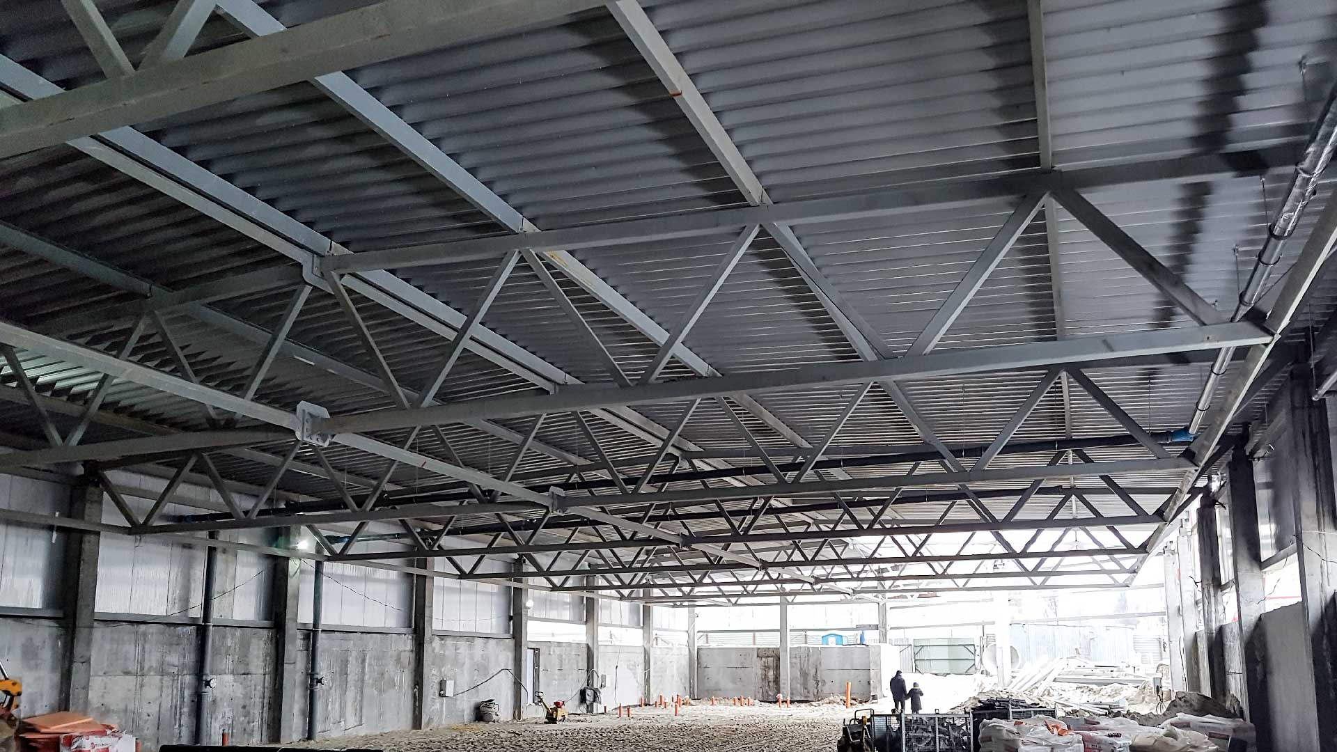 Гипермаркет«NOVUS»(ЖК«Липинка») Строительнаякомпания«Riola»