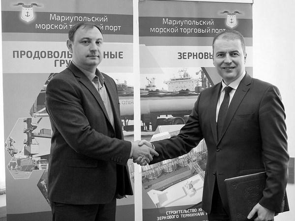 riola modul ltd zaklyuchila dogovor s gp mariupolskij morskoj torgovyj port