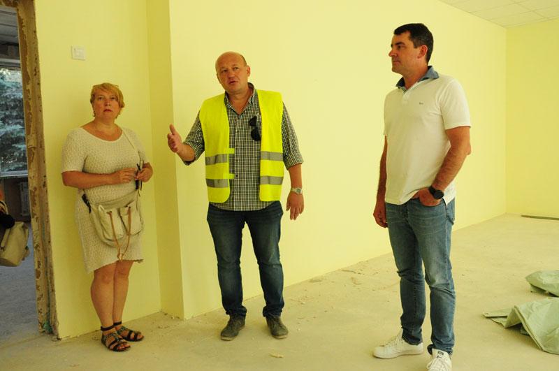 Строительные работы школы в г. Славянск. - Строительная компания «Riola»
