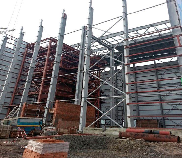 ТЭС на биомассе (пгт. Иванков) - Строительная компания «Riola»