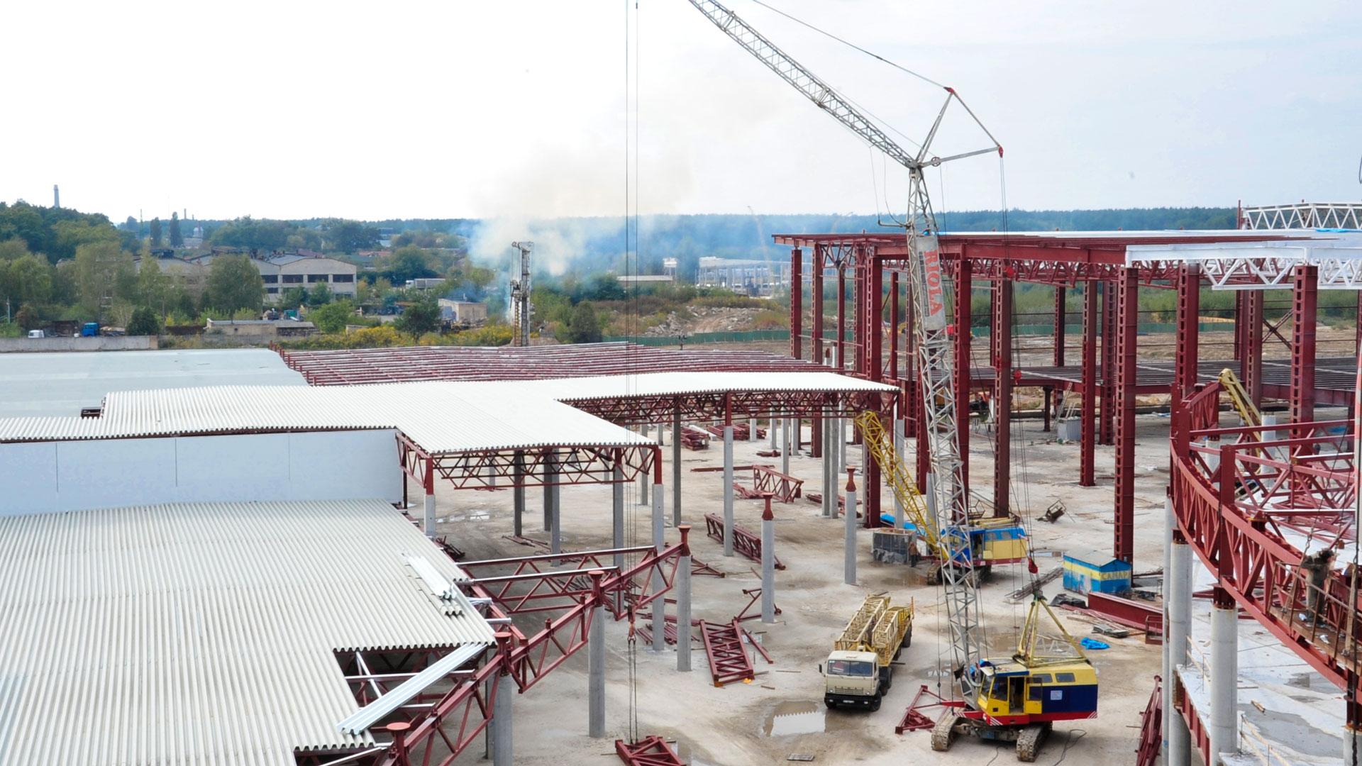 ТРЦ «Lavina Mall» - Строительная компания «Riola»