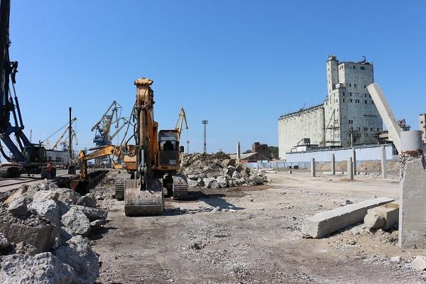 Зерновой терминал и реконструкция порта. - Строительная компания «Riola»