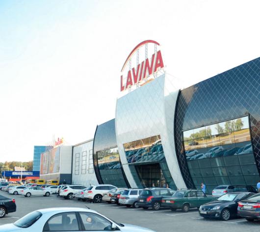 Один из наших объектов — ТРЦ «LAVINA Mall»